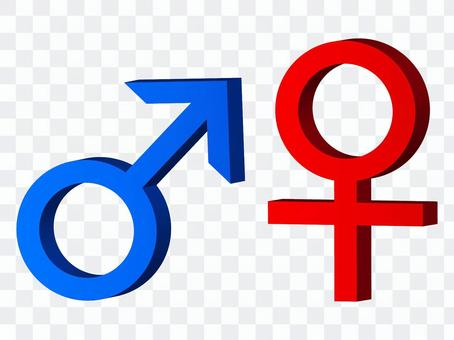 男性女性標記