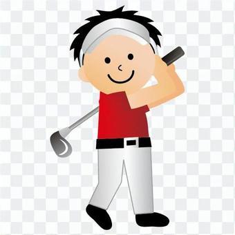 高爾夫球員