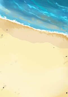 海灘背景②