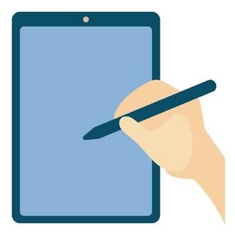 平板電腦和触控筆