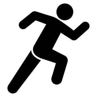 跑步者象形圖