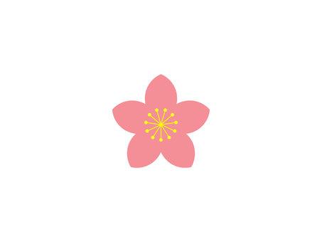 桃花圖案01