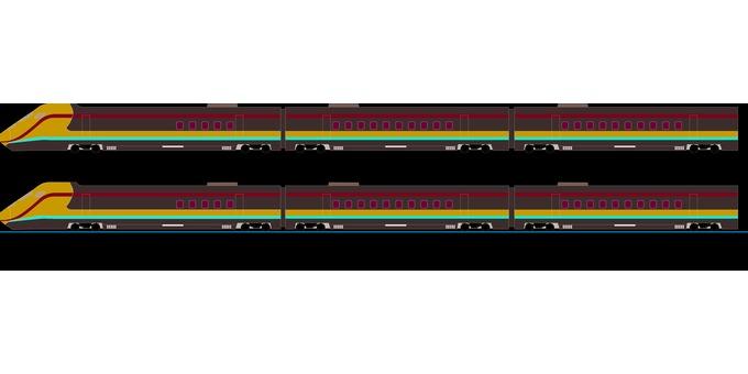 鐵路列車測試免費軌距列車