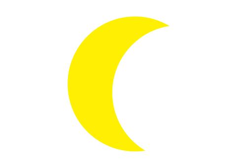 1 幅插圖(新月)