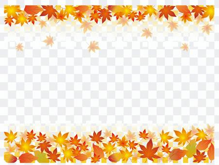 Japanese paper _ autumn leaves pattern _ CS 6