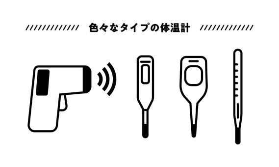 各類溫度計套裝