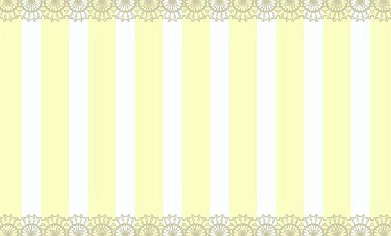 名片條紋黃色