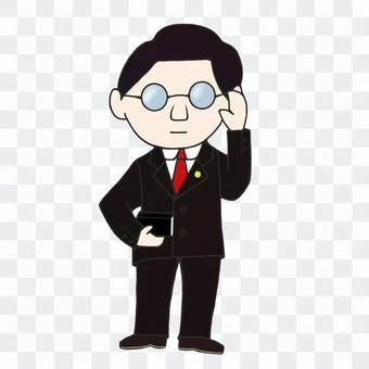 律師(黑色)