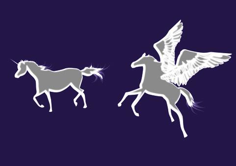 飛馬獨角獸馬跑飛