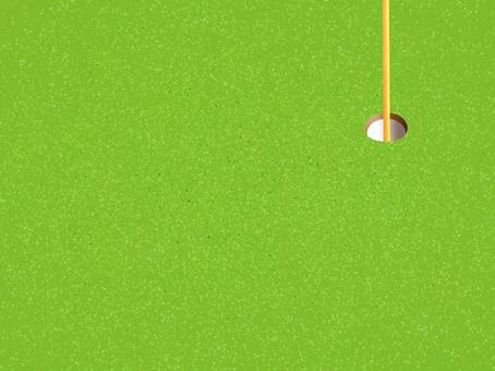背景高爾夫綠色