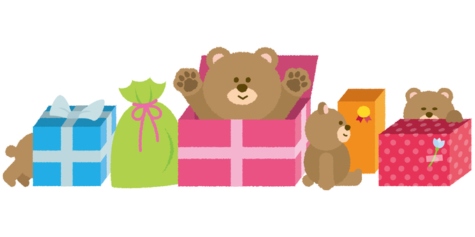 Bear and present