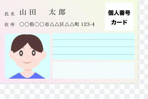 我的號碼卡男