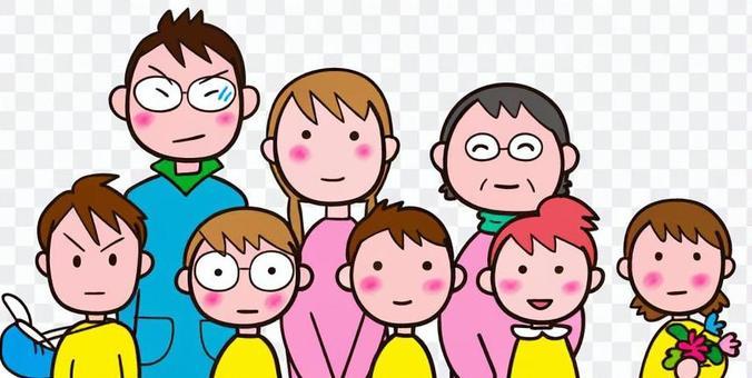 兒童和老師/托兒所教師