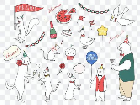 動物的聖誕派對