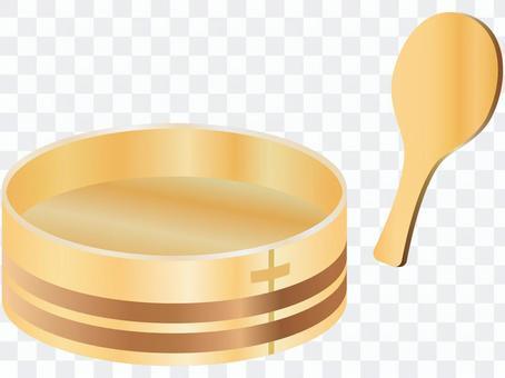 壽司碗和年糕