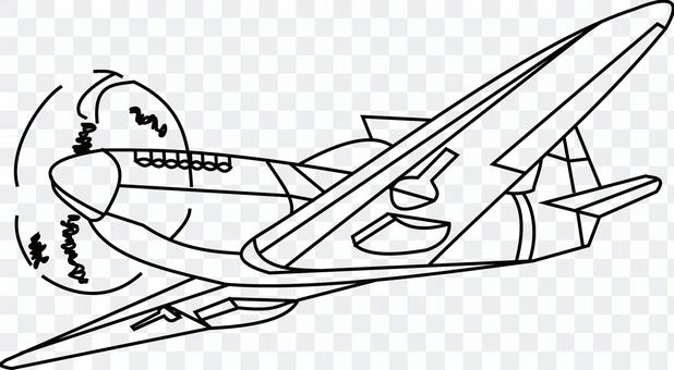 プロペラ機