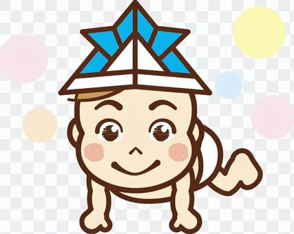 """兒童節/嬰兒3""""頭盔"""""""