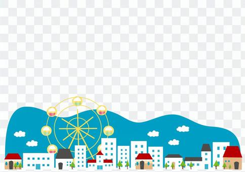 Landscape with Ferris Wheel 2