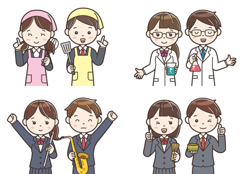 Club activity illustration 19