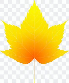 aiオレンジ色のカエデ2・1点