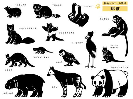 Animal silhouette (rare beast)