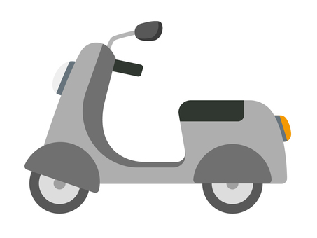 Scooter (gray)