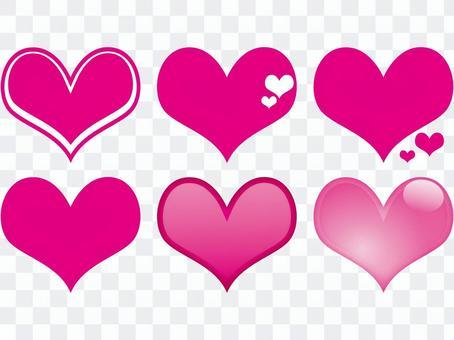 ♥心1  -  6