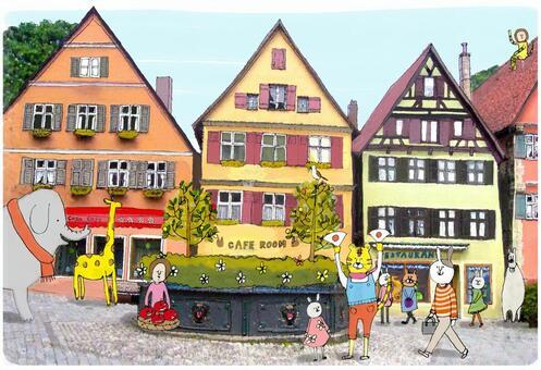 德國cityscapes _沒有字符版本