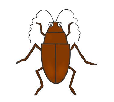 Weakened cockroach