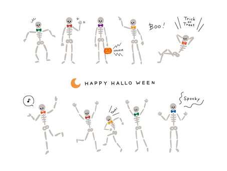 Halloween is for white background