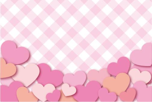 Heart's frame card