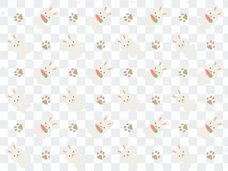 Rabbit (white) pattern 2