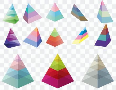 三角金字塔集