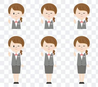 Female receptionist_good