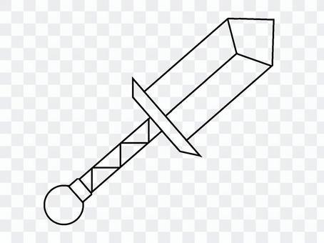 無色武器圖標(匕首)