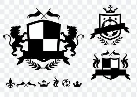 エンブレム サッカー ロゴ