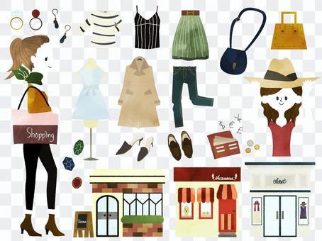 Shopping set