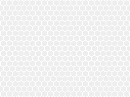 網狀六邊形蜂窩背景灰色