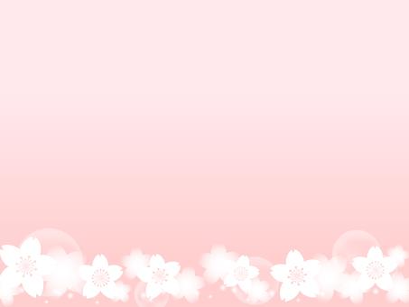 櫻花裝飾框架6