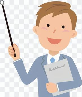 70624. Male employee, upper body 22