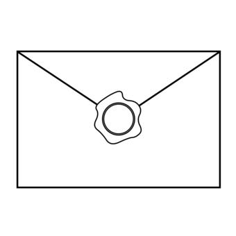 封蠟和封信