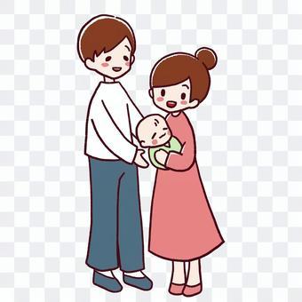 有嬰兒的家庭