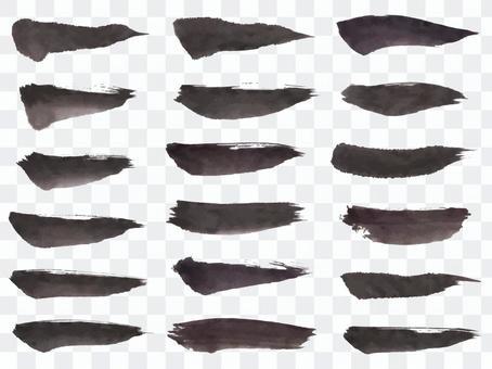 毛刷材料10