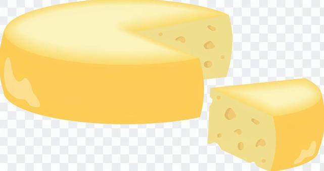 ホールチーズとカットチーズ