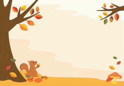 秋天的森林的插圖(2)