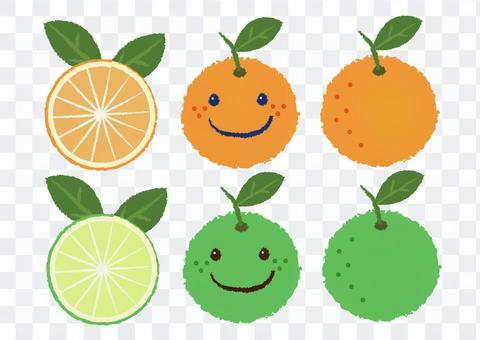 橙色_橙子_看臉11
