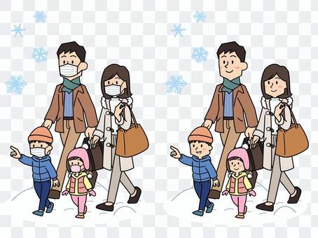 国内旅行(冬)