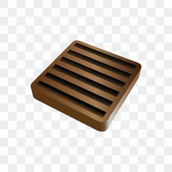 橡膠板(棕色)