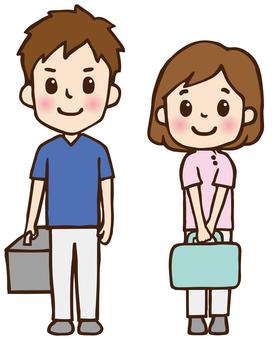 Home-visit medical doctors and nurses 01