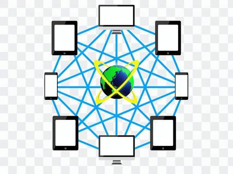 Network communication image